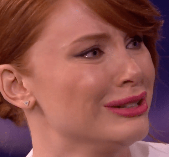 Bryce Dallas Howard cries on Conan