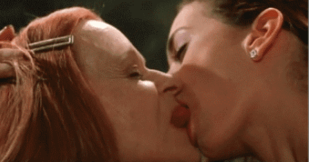 The 10 most gross-out movie kisses ever, from Star Wars to The Shining