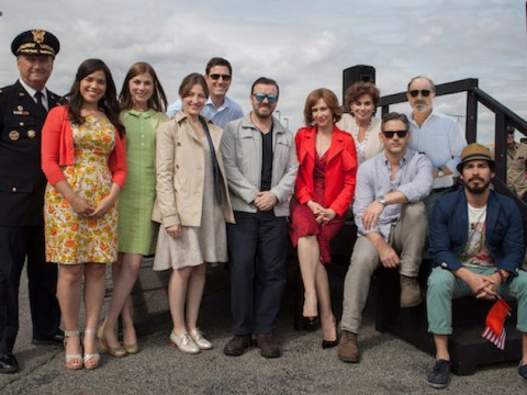 Ricky Gervais' Special Correspondent looks as star-studded as Extras