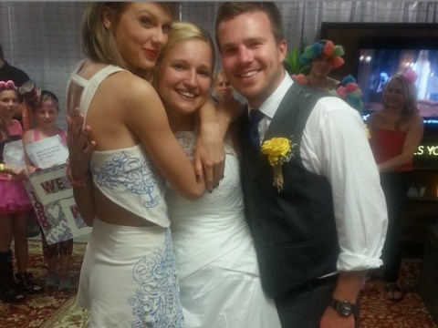 Taylor Swift meets superfan who got married in car park outside her concert