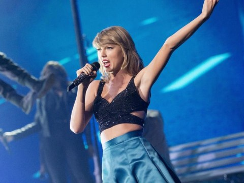 Taylor Swift gushes over Calvin Harris on stage as she tells Scottish crowd 'I am one of you' during 1989 Glasgow gig