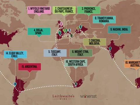 Laithwaites wine launch a £15,000, 46-day round-the-world wine tour