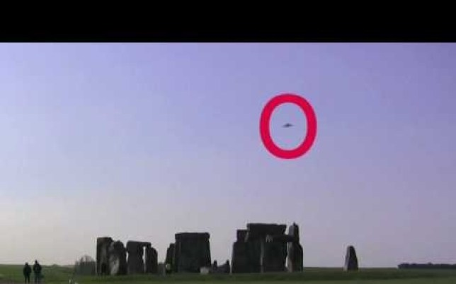 A visitor from beyond the stars? (Picture UFO Sightings Blog)