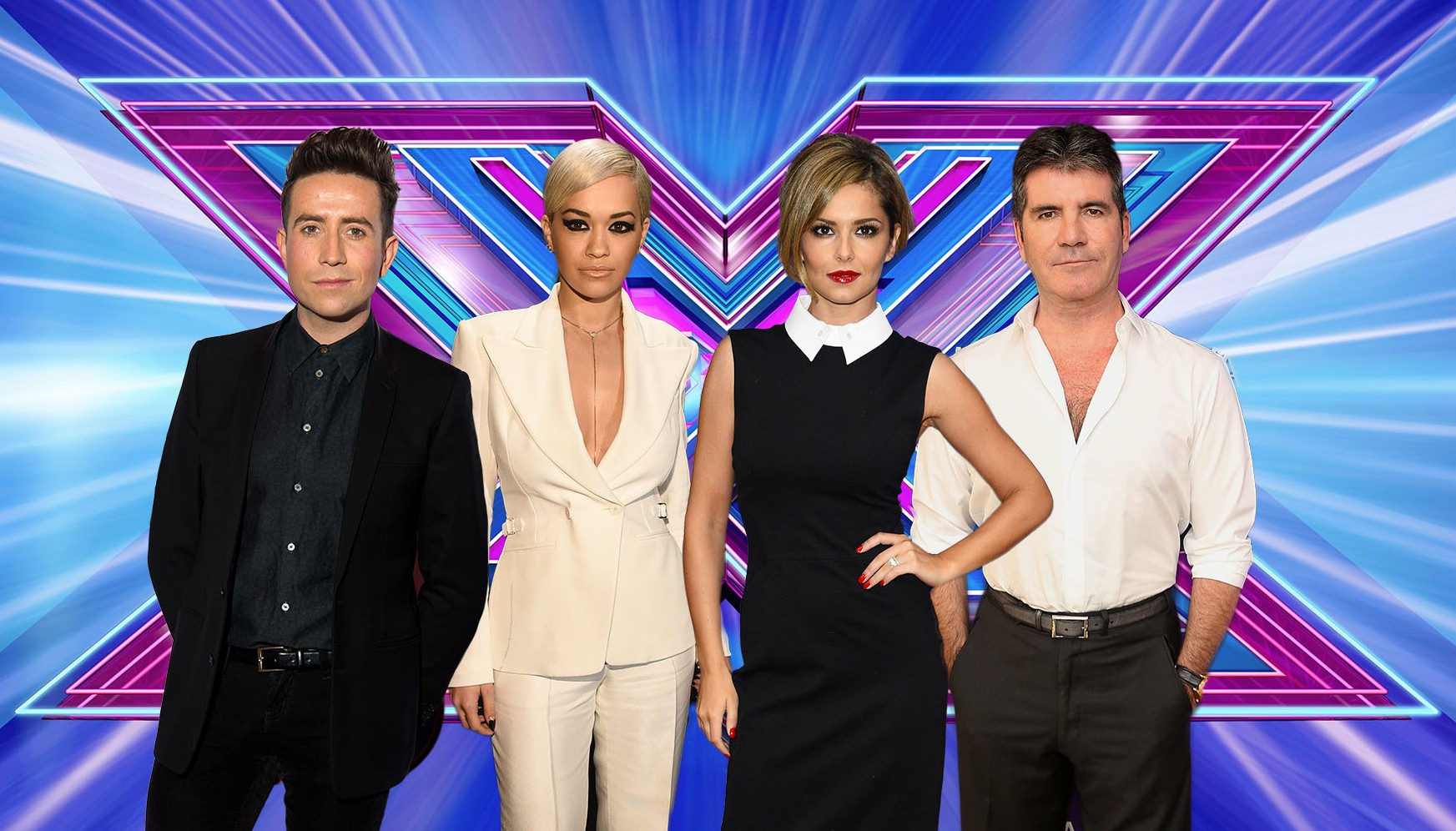 X Factor judge lin up Credit: ITV/Getty/Rex