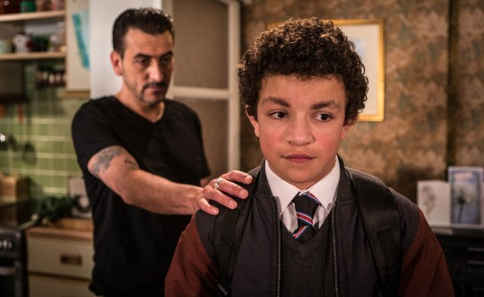 FROM ITV STRICT EMBARGO -TV Listings Magazines & websites Tuesday 7 July 2015, Newspapers Saturday 11 July 2015 Coronation Street - Ep 8685 Thursday 16th July 2015  When Peter Barlow [CHRIS GASCOYNE] drops the bombshell on Simon Barlow [ALEX BAIN] that he's got a new job with a charter boat company working in the Caribbean, Simon's devastated. As Peter heads off to start his new life, Simon takes his anger out on Leanne.  Picture contact: david.crook@itv.com on 0161 952 6214 Photographer - Joseph Scanlon This photograph is (C) ITV Plc and can only be reproduced for editorial purposes directly in connection with the programme or event mentioned above, or ITV plc. Once made available by ITV plc Picture Desk, this photograph can be reproduced once only up until the transmission [TX] date and no reproduction fee will be charged. Any subsequent usage may incur a fee. This photograph must not be manipulated [excluding basic cropping] in a manner which alters the visual appearance of the person photographed deemed detrimental or inappropriate by ITV plc Picture Desk. This photograph must not be syndicated to any other company, publication or website, or permanently archived, without the express written permission of ITV Plc Picture Desk. Full Terms and conditions are available on the website www.itvpictures.com