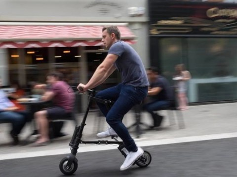 This is the world's smallest e-bike and it's perfect for lazy commuters