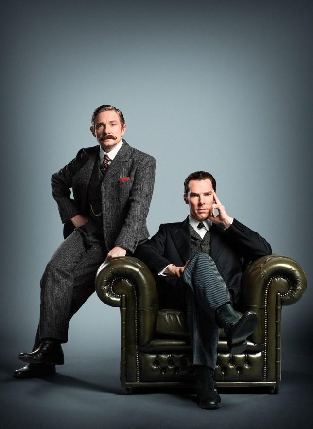 Hello, boys (Picture: PA/BBC)