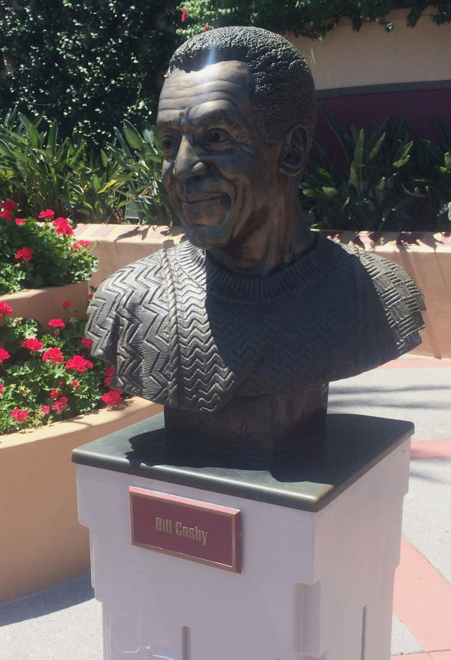 Bill Cosby statue Walt Disney World Florida