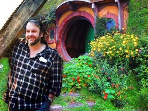 Peter Jackson has recreated Bilbo Baggins' home in his basement
