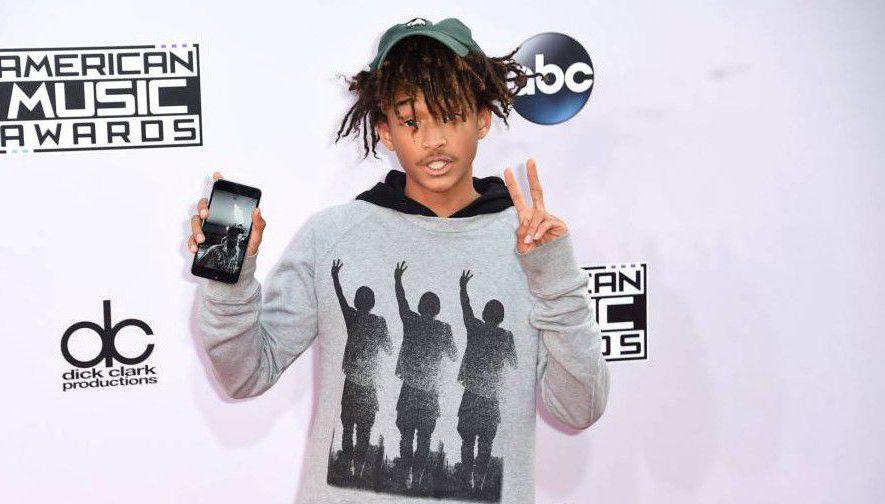 Mandatory Credit: Photo by Rob Latour/REX Shutterstock (4267345m).. Jaden Smith.. American Music Awards, Arrivals, Los Angeles, America - 23 Nov 2014.. ..