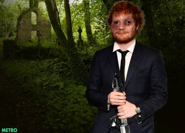 Ed Sheeran lands gruesome TV role