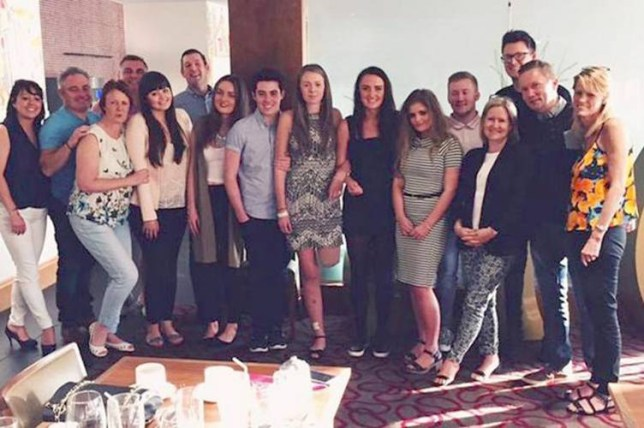 Leah Washington.jpg Brave Alton Towers rollercoaster crash victim Leah Washington has posted an inspirational picture on Facebook following her leg amputation as she takes her first steps supported by family and friends. In the photo - taken on June 28 - a smiling Leah can been seen arm-in-arm with friends and family smiling.