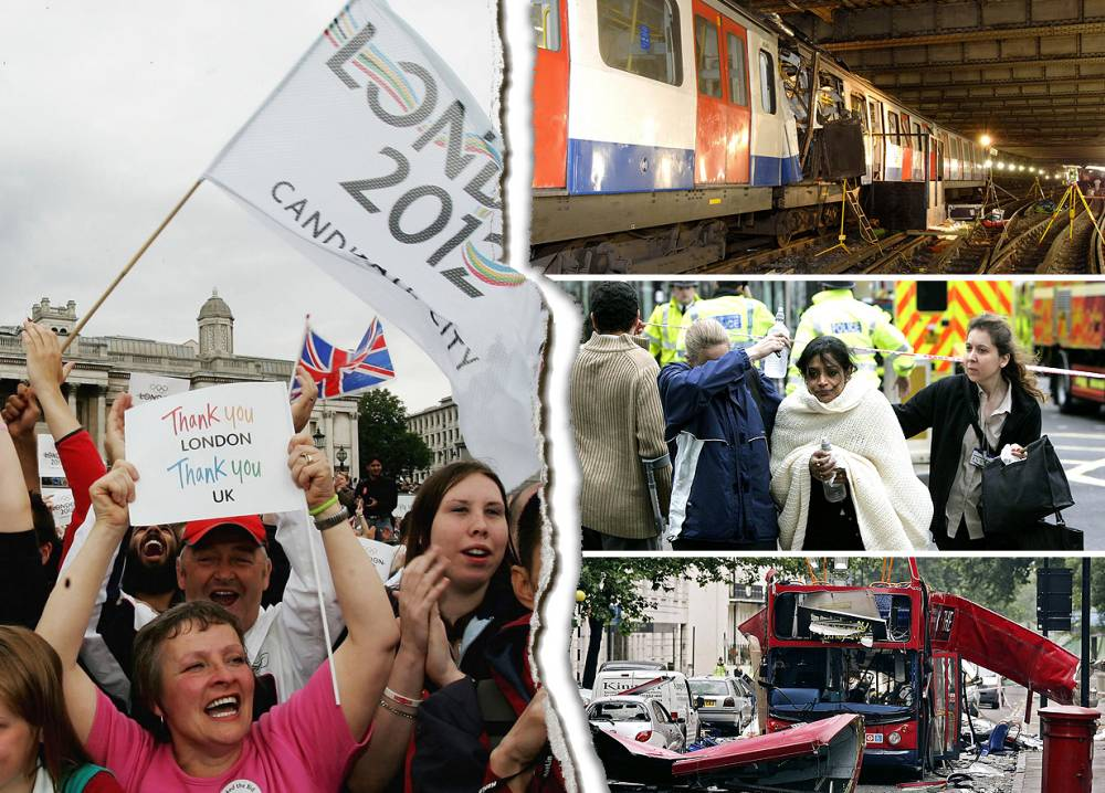 7/7 London bombings: How we went from triumph to tragedy in 24 hours