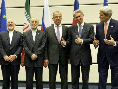 Whoops! Philip Hammond 'gave Iran the finger' over nuclear agreement