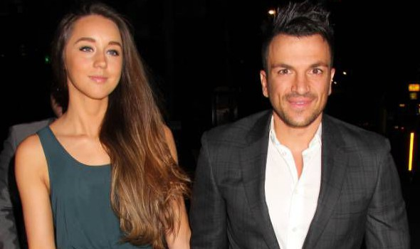 Emily MacDonagh and Peter Andre.. New Magazine Party at Gilgamesh, London, Britain - 05 Mar 2013.. ..