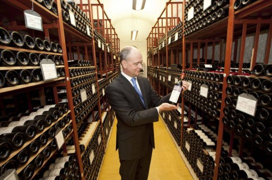 Mandatory Credit: Photo by Evening Standar/REX Shutterstock (1716408a).. Inside The Government's Wine Cellar . Head Of The Government's Wine Cellar Robert Alexander .. Inside The Government's Wine Cellar . Head Of The Government's Wine Cellar Robert Alexander.. ..