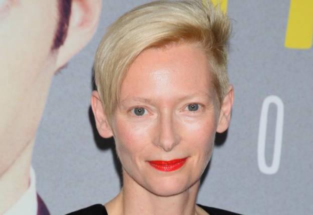 Tilda Swinton looks unbelievably different in new movie Trainwreck
