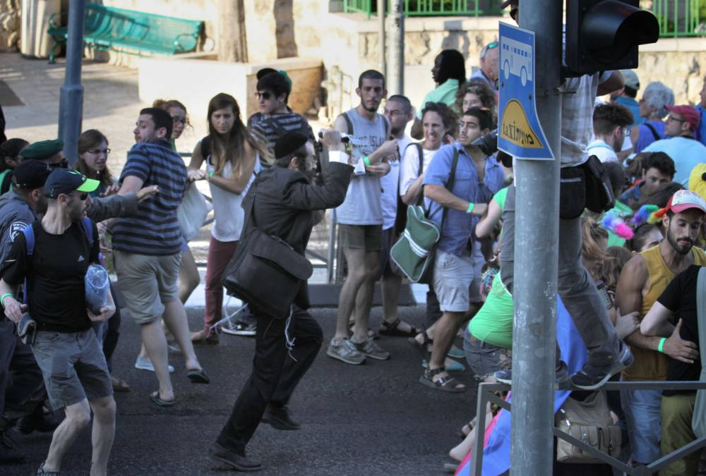'Six stabbed by ultra-Orthodox Jew' at Gay Pride event in Jerusalem