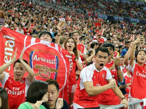 Arsenal are most watched team in London according to TV viewing figures study