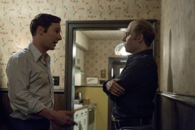 Benedict Cumberbatch and Johnny Depp in Black Mass (Picture: Warner Bros.)