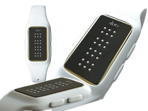 This is the world's first Braille smartwatch