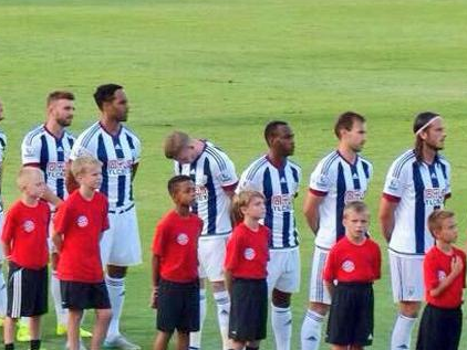 West Brom star James McClean facing backlash after turning his back during national anthem
