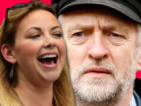Charlotte Church has joined the Jeremy Corbyn fan club