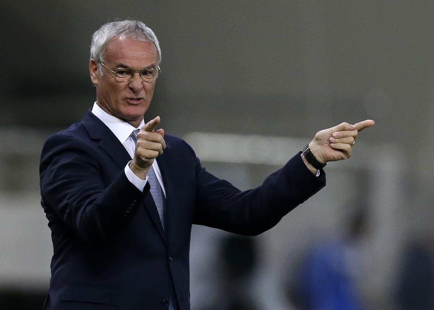 Former Chelsea boss Claudio Ranieri talks up chances of becoming the new Leicester City boss