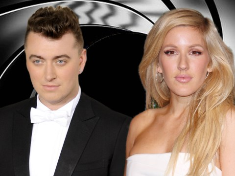 Has Sam Smith revealed the next Bond theme song artist to be Ellie Goulding?