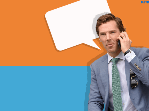 Monday Punday: Who was Benedict Cumberbatch speaking to on the phone?