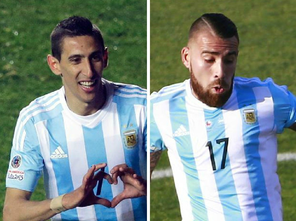 Manchester United 'plan to sell Angel di Maria and use the funds to complete transfer of Nicolas Otamendi'