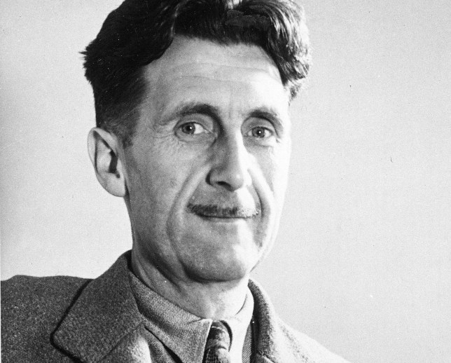 George Orwell at the height of his success