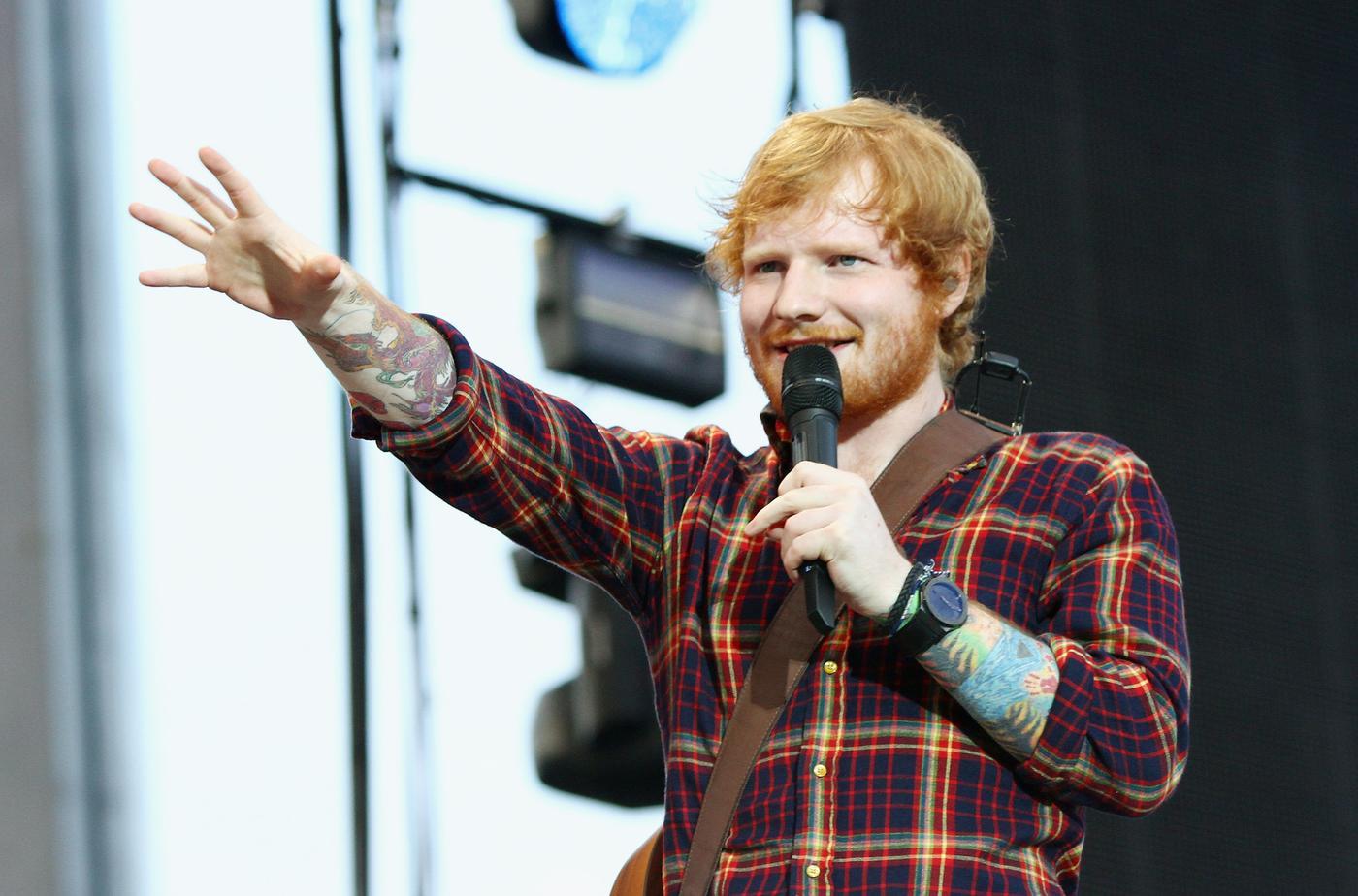 Ed Sheeran Performs At Croke Park In Dublin Phillip Massey/WireImage