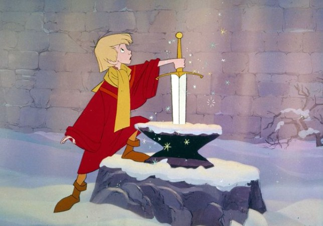 The Sword In The Stone is getting the live-action treatment... (Picture: Disney)