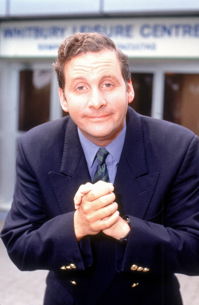Television programme : The Brittas Empire starring Chris Barrie.