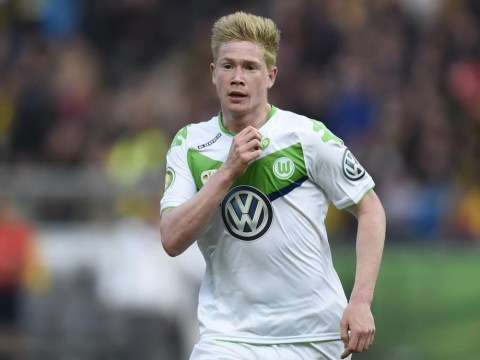 Kevin De Bruyne will snub Manchester City transfer, says Wolfsburg coach Dieter Hecking