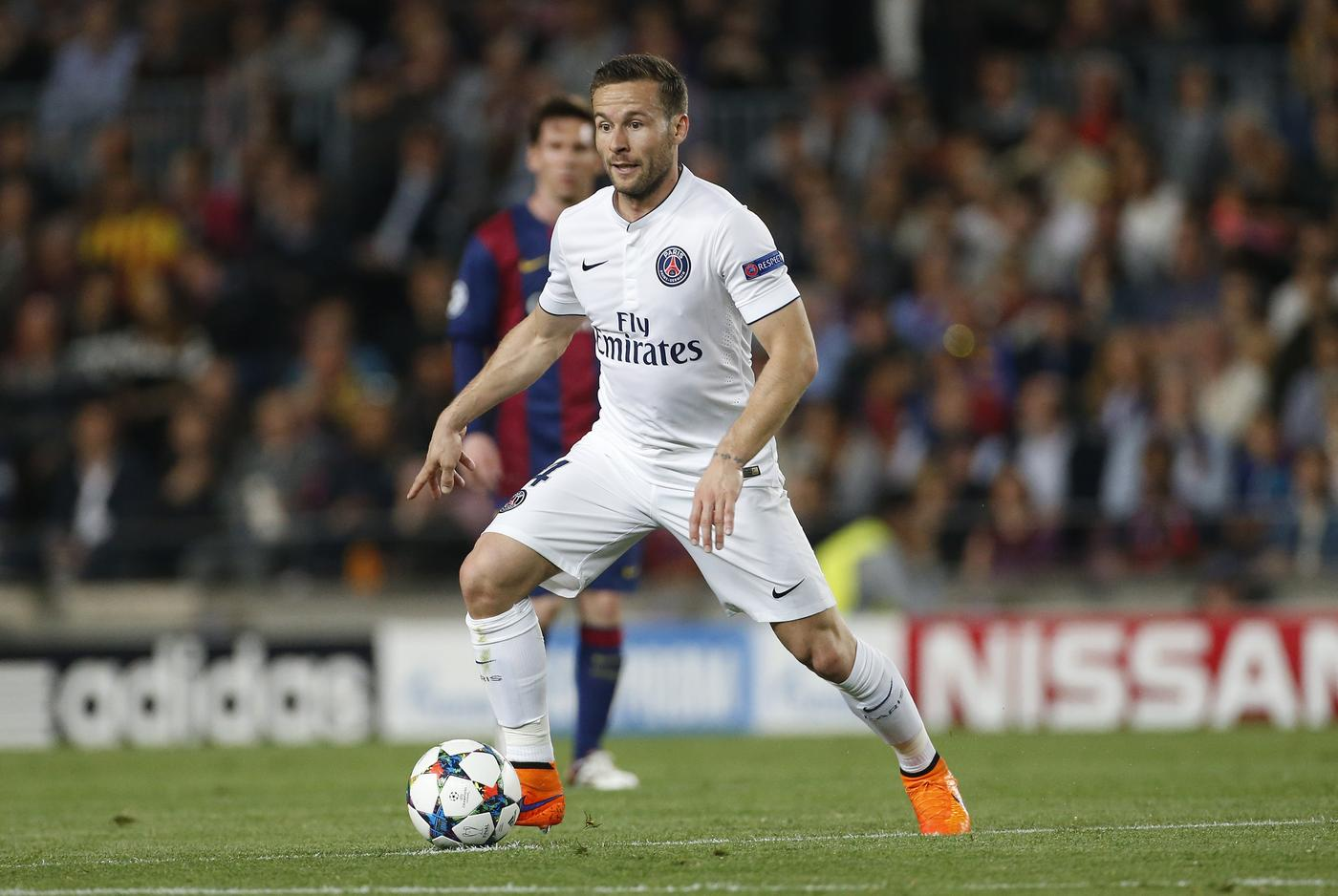 Crystal Palace 'reach agreement with PSG over Yohan Cabaye transfer'
