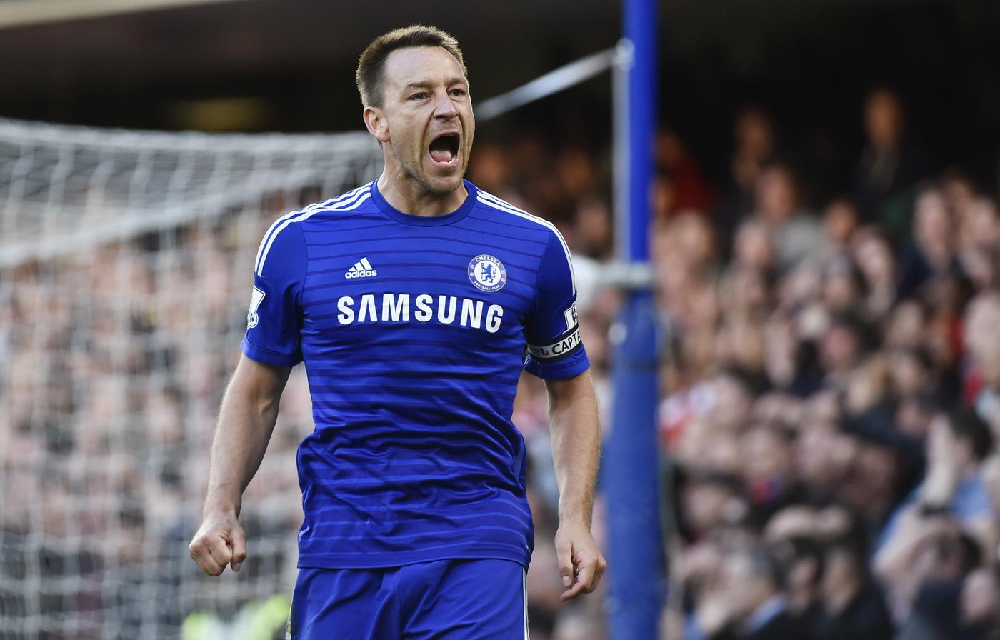 Football: Chelsea's John Terry reacts Toby Melville/Reuters