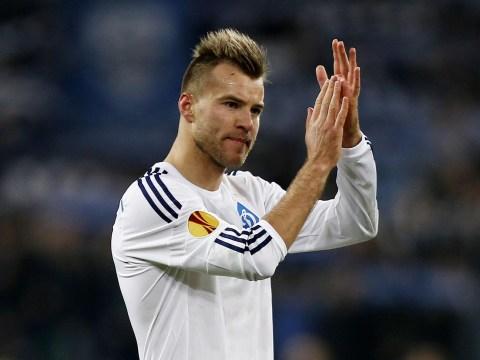 Stoke City 'locked in transfer talks with Dynamo Kiev over £13.5m transfer move for Andriy Yarmolenko'