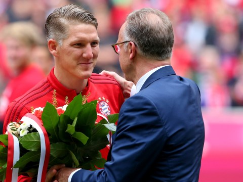 Manchester United  close on 'imminent' transfer of Bastian Schweinsteiger