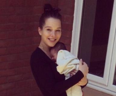Helen Flanagan is ditching smoking habit for her daughter