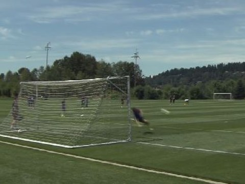 Ander Herrera proves he's a perfect David De Gea replacement with insane saves in Manchester United training