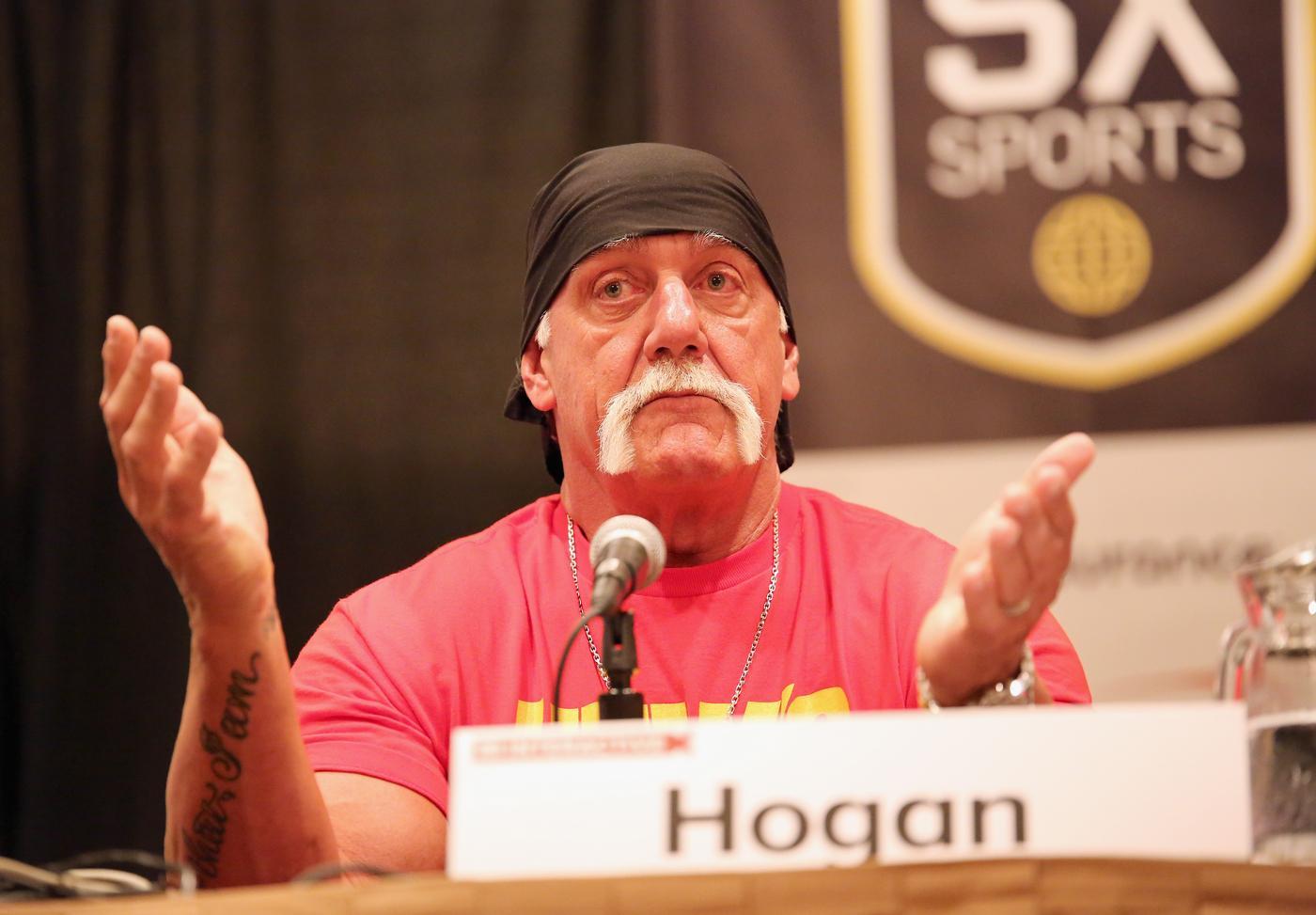 Hulk Hogan apologises for 'unacceptable' racial slurs as WWE confirms wrestler's 'sacking'