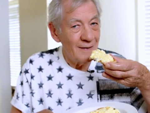 Want to know how to make the world's best scrambled eggs? Just ask Sir Ian McKellen…