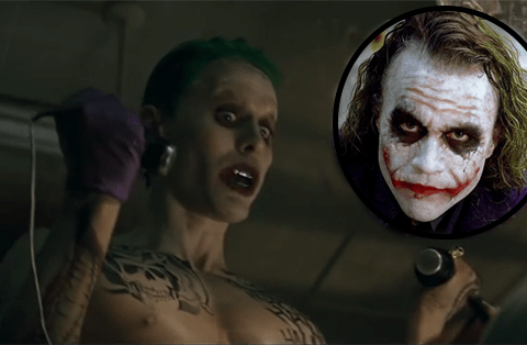 Suicide Squad: Jared Leto's Joker sounds a lot like Heath Ledger's in The Dark Knight