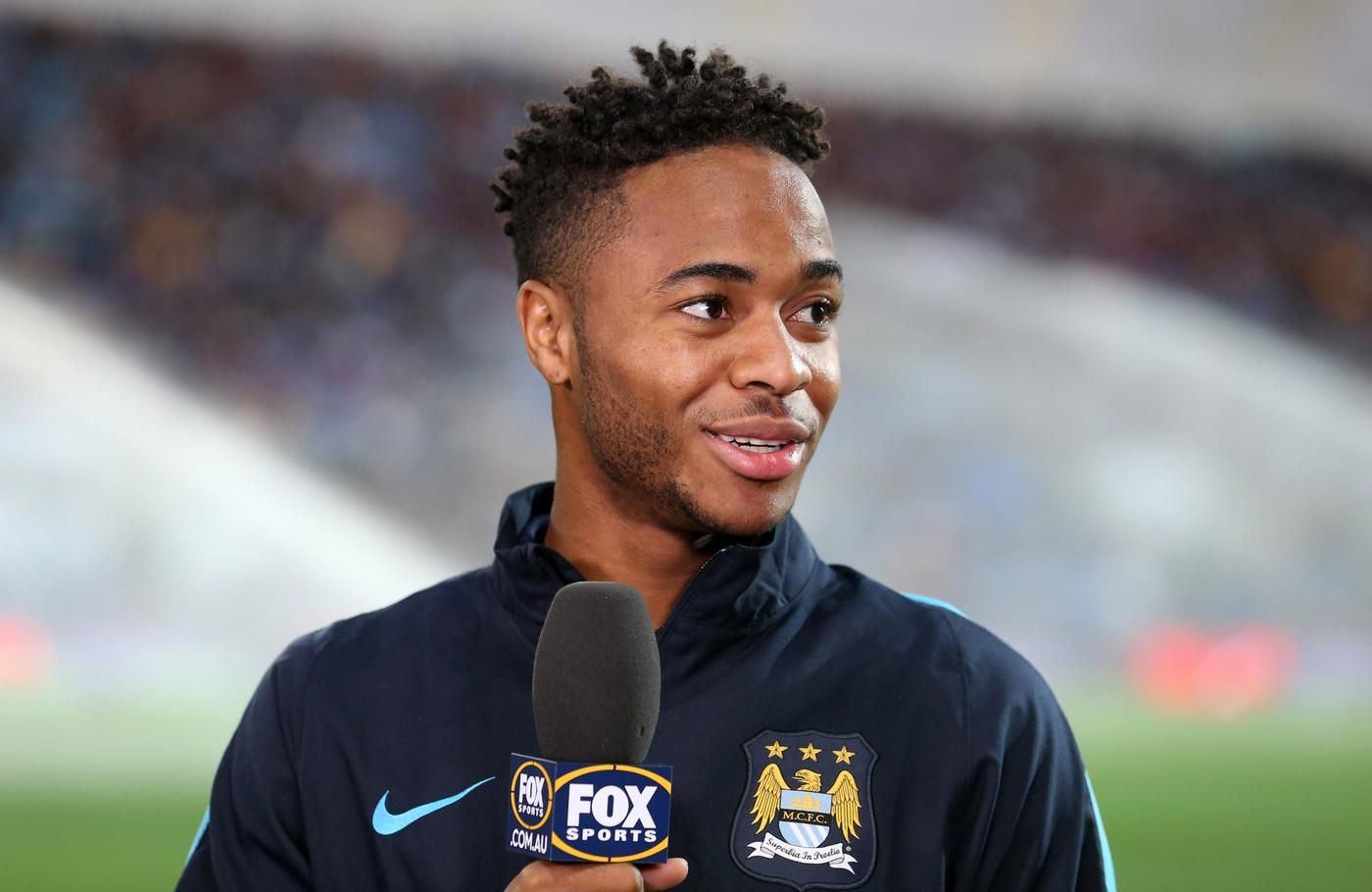 Manchester City's Raheem Sterling Jason O'Brien/Reuters