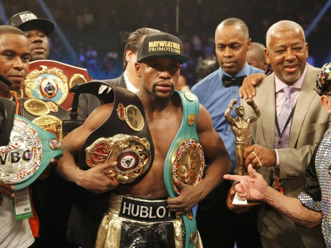 Floyd Mayweather stripped of WBO welterweight title after beating Manny Pacquiao