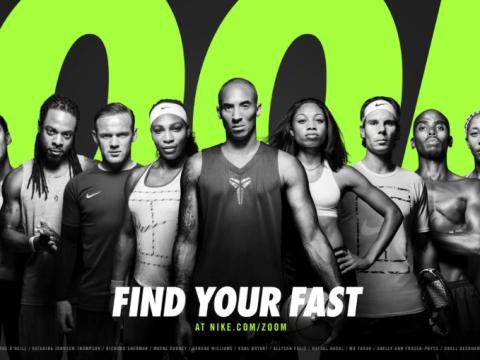 Wayne Rooney, Rafa Nadal and Mo Farah combine to create 'the world's fastest advert'
