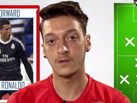 Arsenal's Mesut Ozil picks Serge Gnabry in his ultimate XI