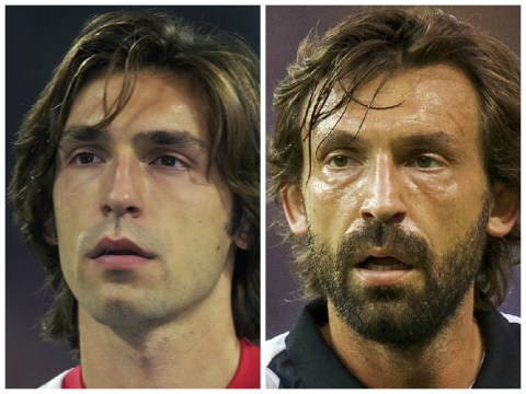 Robben balding, Pirlo's beard and Rooney's hairline: How time has caught up with these 11 players